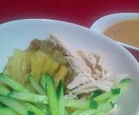 焼きナスの棒々鶏(バンバンジー)