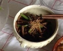 水前寺菜と山えのきのナムル