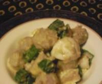 里芋と白味噌の南イタリア風サラダ
