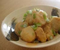 里芋の味噌バター煮込み