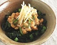 水前寺菜の納豆和え