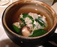 モロヘイヤの卵とじスープ
