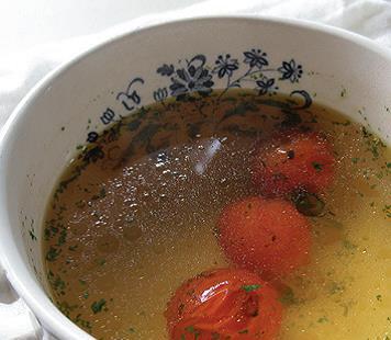 焼きトマトスープ
