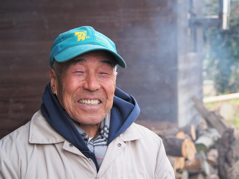 大塚さん小豆(1)大塚さん正面笑顔