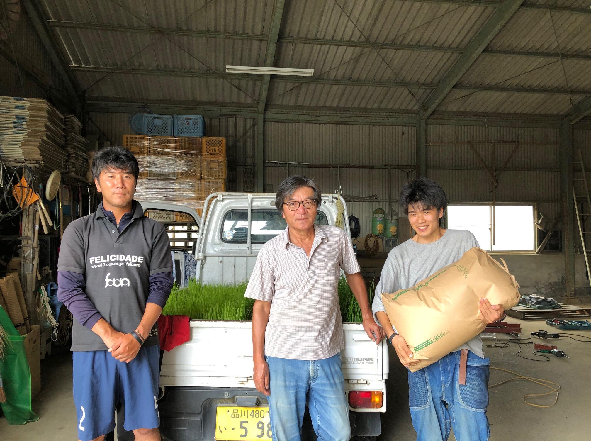 自然栽培農家稲本さん