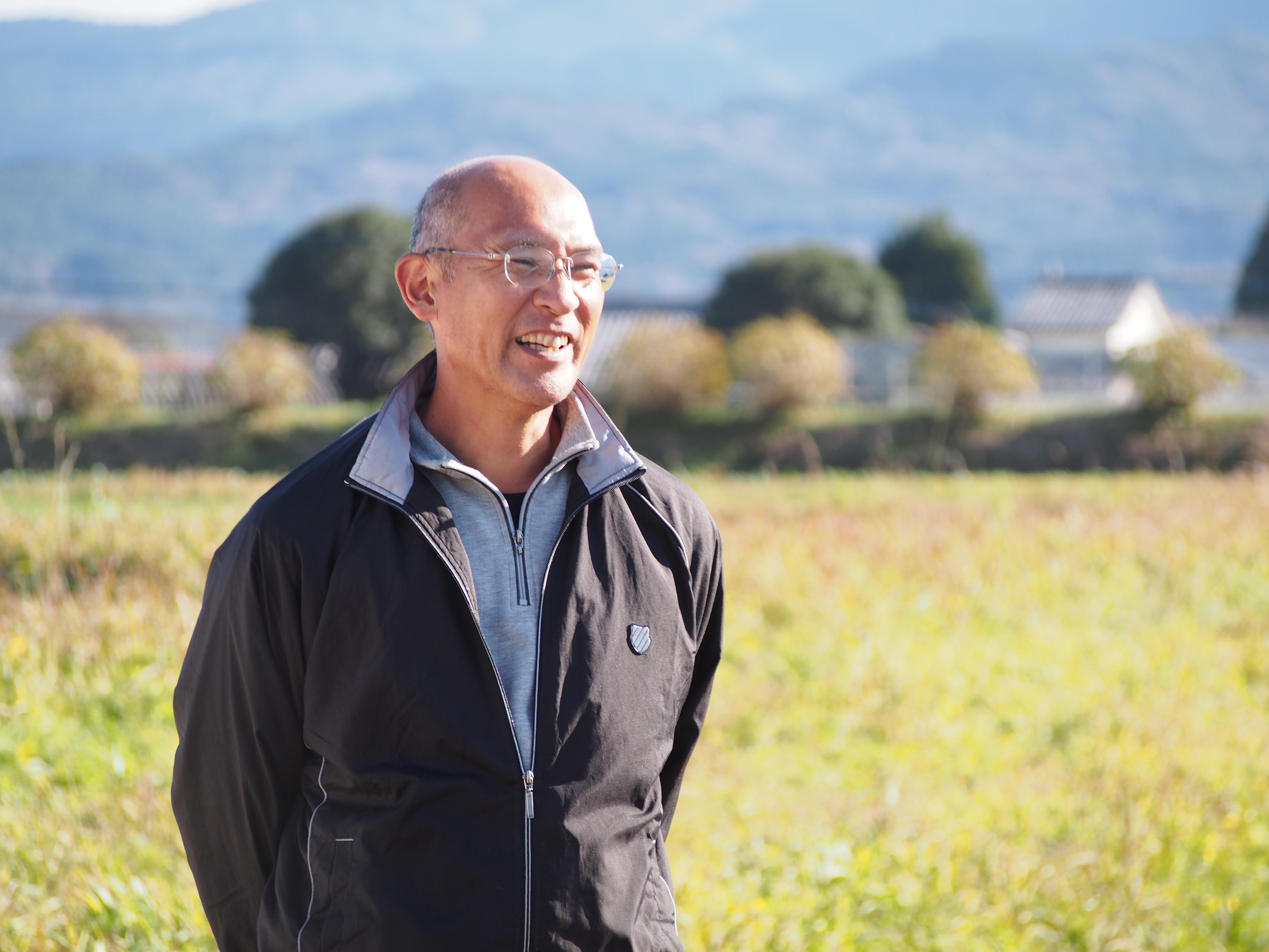 川越さんの自然栽培大根