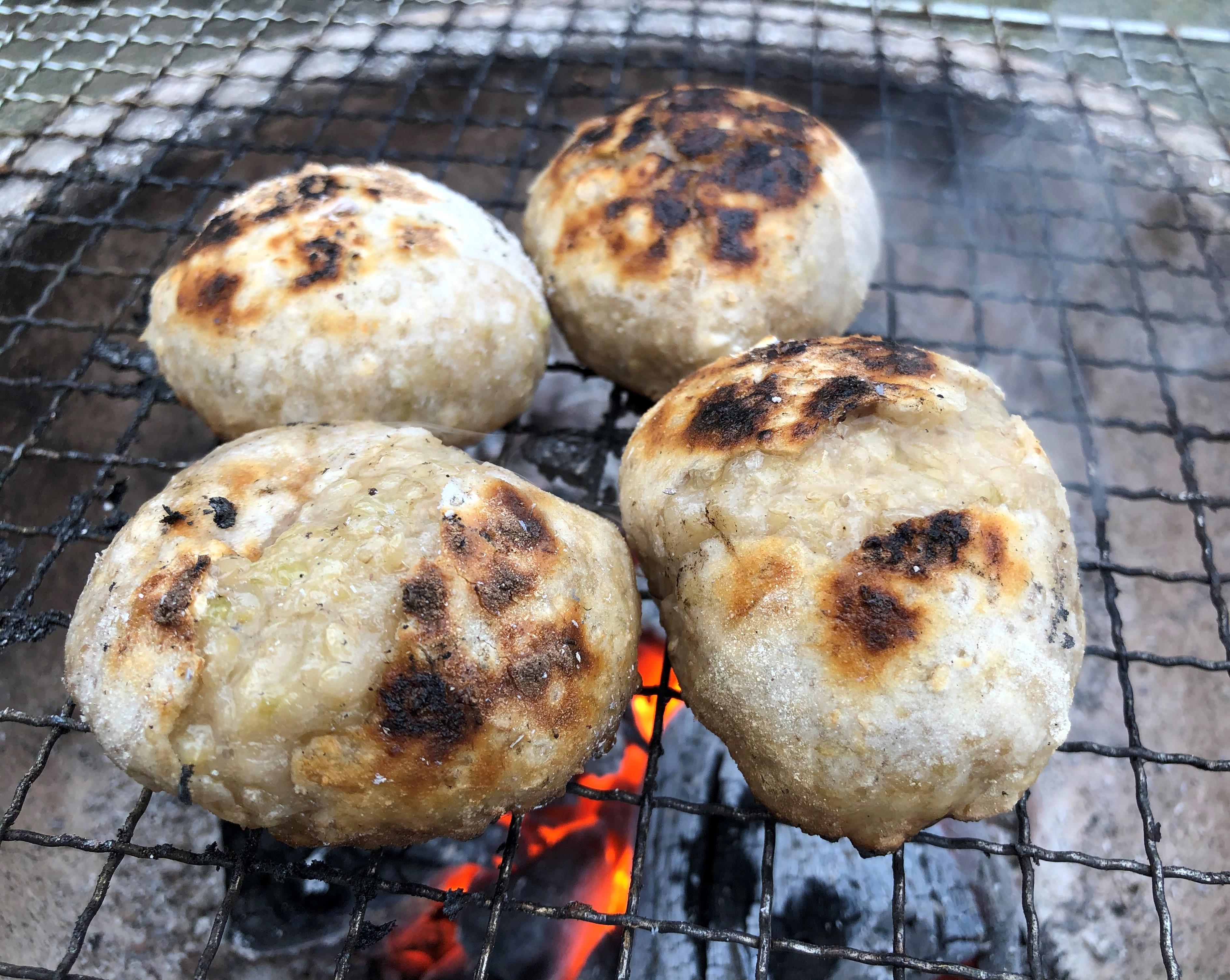 自然栽培玄米丸餅