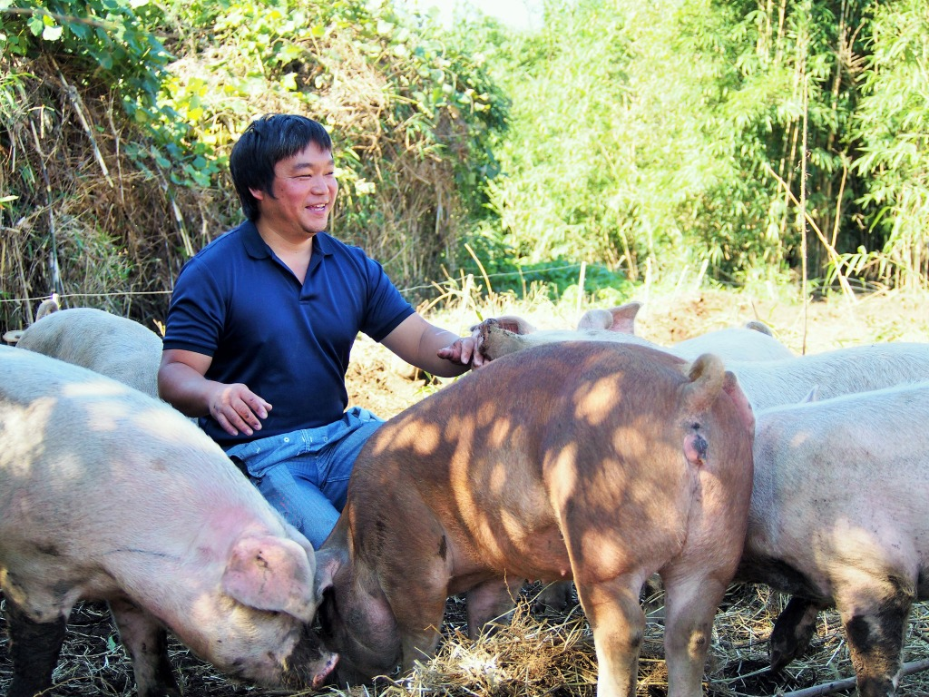 やまあい村自然豚